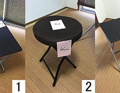 折り畳みテーブル&椅子